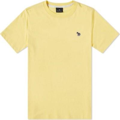 ポールスミス Paul Smith メンズ Tシャツ ロゴTシャツ トップス Zebra Logo Tee Yellow