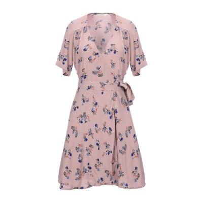 セッスン SESSUN ミニワンピース&ドレス パステルピンク XS レーヨン 100% ミニワンピース&ドレス