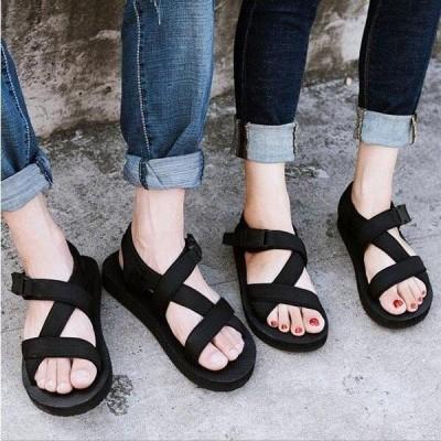 サンダル メンズ ビーチサンダル メンズ 痛くない 夏サンダル 靴 カジュアルシューズ 大きいサイズ かっこいい 歩きやすい 新作