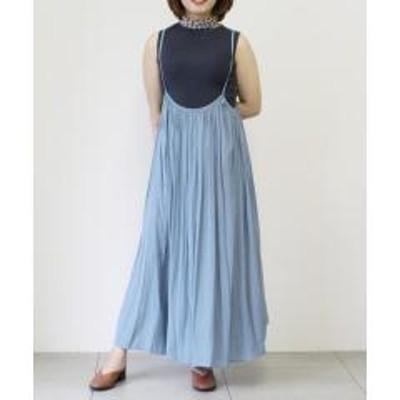 UNRELISHサテンジャンパースカート【お取り寄せ商品】