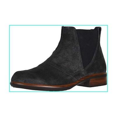 【新品】NAOT Footwear Women's Ruzgar Flat Boot Oily Midnight Suede 7 M US(並行輸入品)