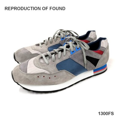 REPRODUCTION OF FOUND リプロダクション オブ ファウンド フレンチトレーナー(1300FS)グレー スニーカー メンズ