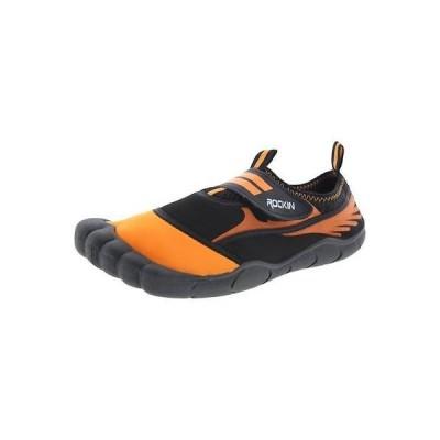 アスレチック シューズ 靴 Rockin Footwear Rockin Footwear 2154 レディース オレンジ Neoprene mesh カラーblock Water シューズ 7 BHFO