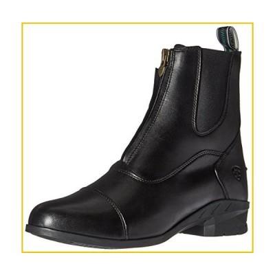 ARIAT womens English Paddock Boot, Black, 7.5 Wide US