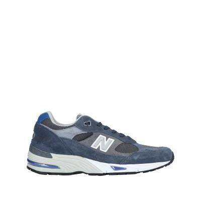 ニュー・バランス NEW BALANCE スニーカー&テニスシューズ(ローカット) ブルーグレー 11 革 / 紡績繊維 スニーカー&テニスシューズ