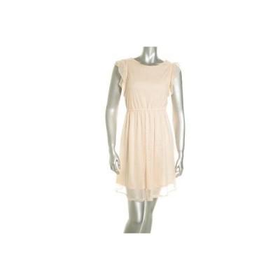 メイソン ジュール ドレス ワンピース フォーマル Maison Jules レディース ドレス サンドレス XS Peach Lace Trim ナイロン Regular LAFO