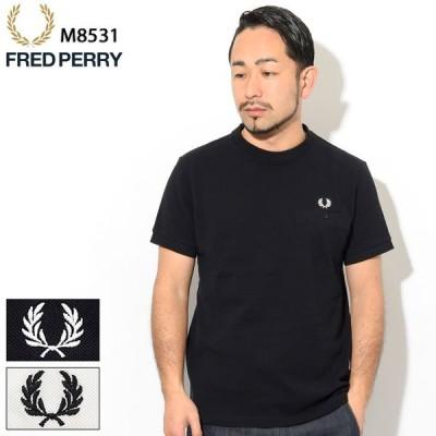 フレッドペリー Tシャツ 半袖 FRED PERRY メンズ ポケット ディテール ピケ ( M8531 Pocket Detail Pique S/S Tee カットソー 鹿の子 )