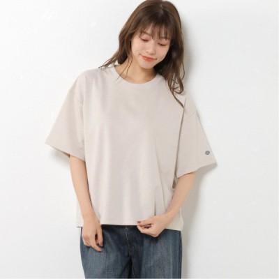 DRYドロップワイド半袖Tシャツ オートミール M L XL