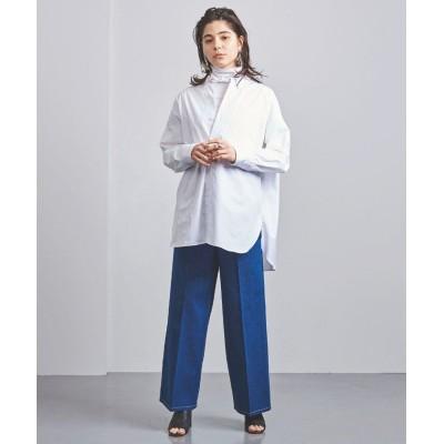 【ユナイテッドアローズ】 UGSC ボタンダウン ビッグシャツ レディース ホワイト 36 UNITED ARROWS