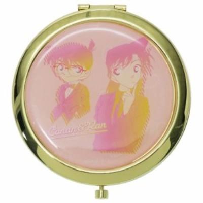 名探偵コナン 手鏡 W コンパクトミラー コナン & 蘭 ルミエシリーズ アニメキャラクター グッズ メール便可