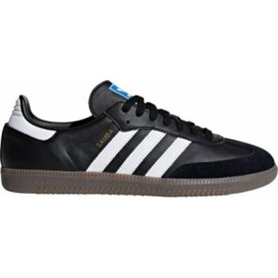 アディダス メンズ スニーカー シューズ adidas Men's Samba OG Shoes Black/White/Gum