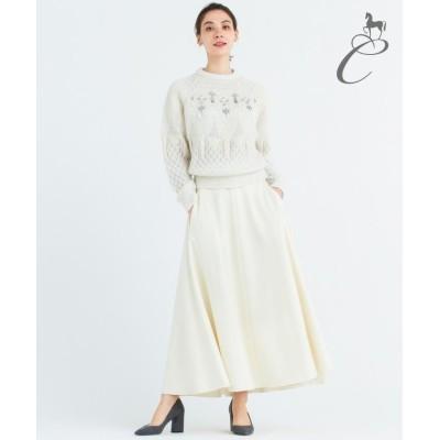 (JIYU-KU/ジユウク)【Class Lounge】AQUA LEGEND スカート/レディース ホワイト系