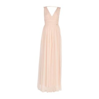 レリッシュ RELISH ロングワンピース&ドレス ピンク L 100% ポリエステル ロングワンピース&ドレス