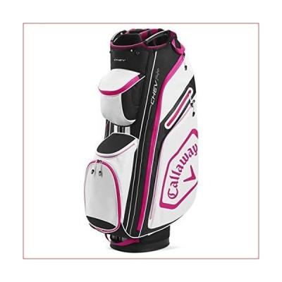 新品CALLAWAY Golf 2020 Chev 14+ カートバッグ ブラック/ピンク ワンサイズ