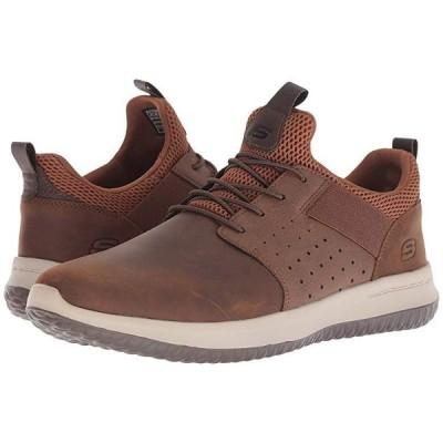 スケッチャーズ Delson - Axton メンズ スニーカー 靴 シューズ Dark Brown