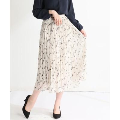 Honeys / プリーツロングスカート WOMEN スカート > スカート