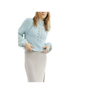 フリーピープル Sweetheart Sweater レディース セーター Ocean Pearl