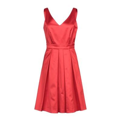 CRISTINAEFFE ミニワンピース&ドレス レッド 42 コットン 57% / レーヨン 38% / ポリウレタン 5% ミニワンピース&ドレス