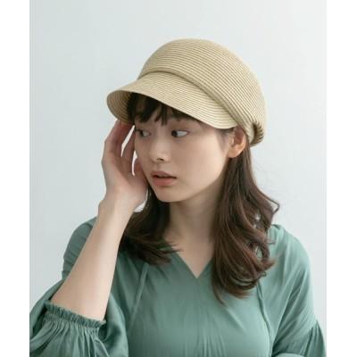 URBAN RESEARCH / 洗えるたためるキャスケット WOMEN 帽子 > キャスケット
