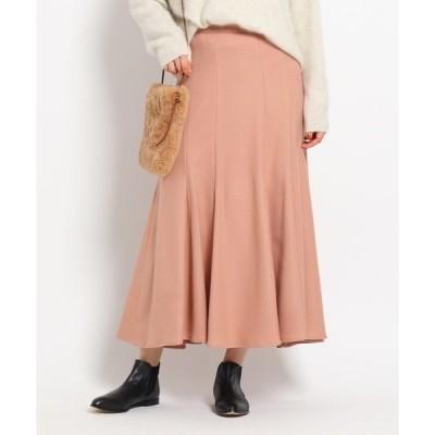 スカート 【Sサイズあり】ウール混ロングスカート
