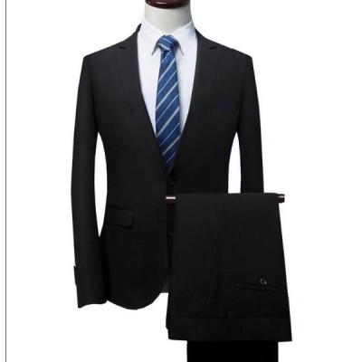3点セット スーツ 大きいサイズ ビジネス フォーマル メンズ ジャケット+パンツ+長袖シャツ 紳士服 スーリピーススーツ サラリーマン 通勤 発表会 二次会