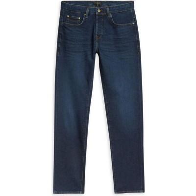 テッドベーカー Ted Baker メンズ ジーンズ・デニム ボトムス・パンツ Simey Straight Leg Jeans BLUE