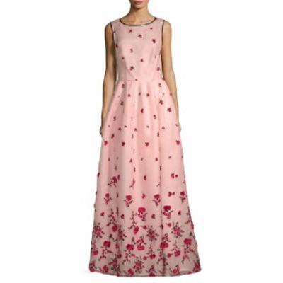 オスカーデラレンタ レディース ワンピース Floral Floor-Length Gown