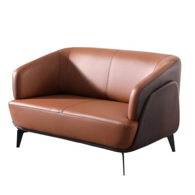 MUNA 尼伯特雙人皮沙發 130X75X80cm