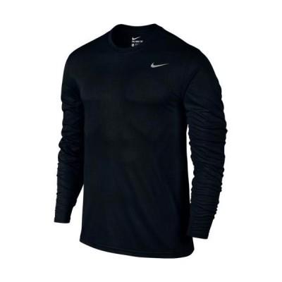ナイキ(NIKE) メンズ Dri-FIT レジェンド L/S Tシャツ ブラック/ブラック/マットシルバー 718838 010 長袖 トップス スポーツウェア トレーニングウェア