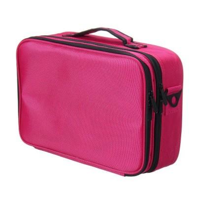 [S]IPRee?3サイズ女性ファッションオックスフォード化粧品バッグ旅行化粧オーガナイザープロフェッショナルメイクアップボックス化粧品ポーチバッグ