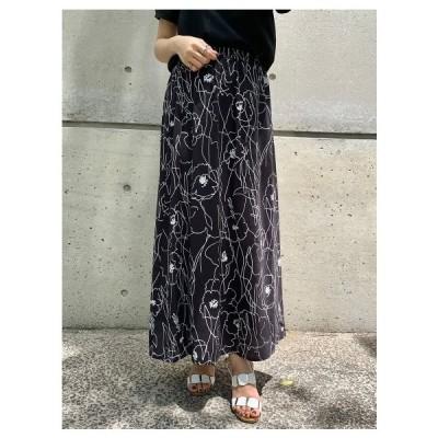 VICKY(ビッキー)【WEB別注】アートフラワースカート