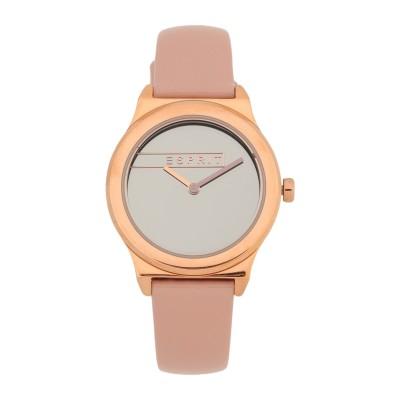 ESPRIT 腕時計 シルバー ステンレススチール / 革 腕時計