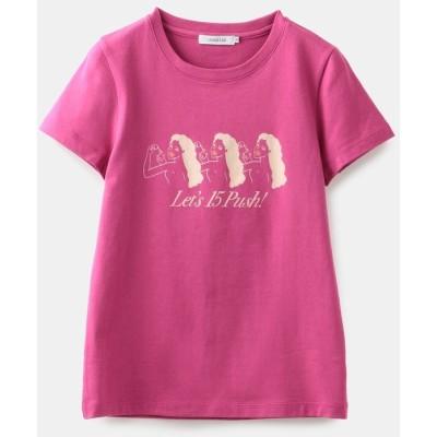 (LOVELESS WOMEN/ラブレス)【LOVELESS×NO PANTIES】コラボTシャツ/レディース ピンク