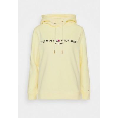 トミー ヒルフィガー パーカー・スウェットシャツ レディース アウター REGULAR HOODIE - Sweatshirt - frosted lemon