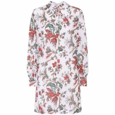 アレキサンダー マックイーン McQ Alexander McQueen レディース ワンピース ワンピース・ドレス Floral-printed minidress Parchment