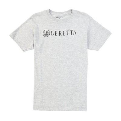 ベレッタ メンズ シャツ トップス Distressed Logo Short-Sleeve Tee