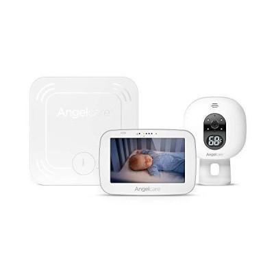 新品Angelcare 3-in-1 AC527 Baby Monitor, with Movement Tracking, 5'' Video, Sound & Temperature Display on Camera送料無料