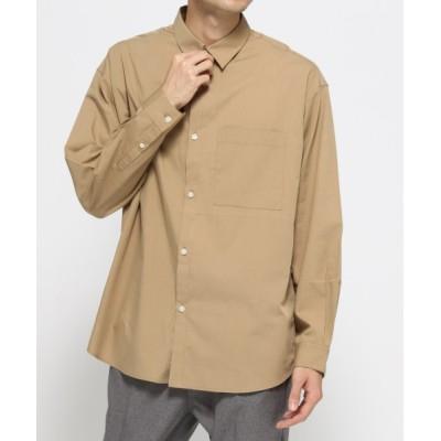 【MENS】サイドボタンシャツ