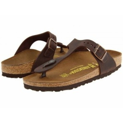 Birkenstock ビルケンシュトック レディース 女性用 シューズ 靴 サンダル Gizeh Oiled Leather Habana Oiled Leather【送料無料】
