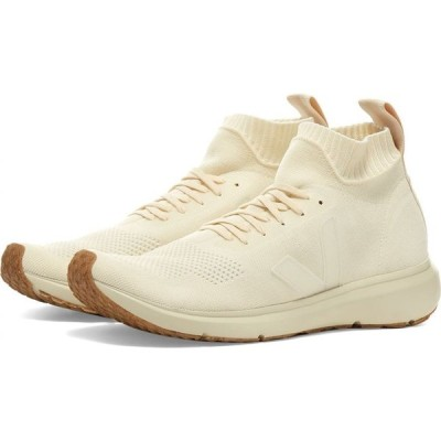 リック オウエンス Rick Owens メンズ スニーカー シューズ・靴 drkshdw x veja sock runner White