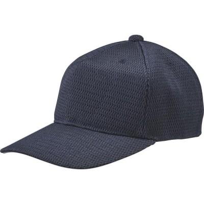 CAP 帽子 キャップ 角型六方キャップ Dネイビー  (DES)(CQB27)