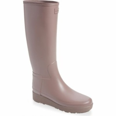 ハンター HUNTER レディース レインシューズ・長靴 シューズ・靴 Refined Creeper Tall Rain Boot Atlantis
