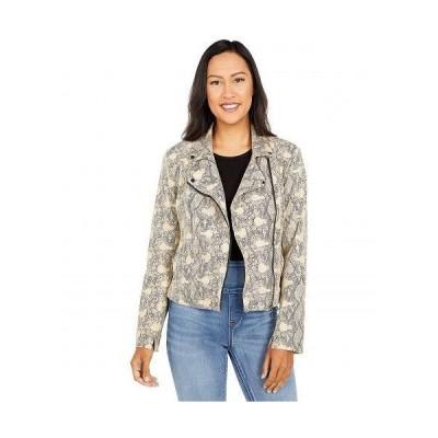 Lysse リセ レディース 女性用 ファッション アウター ジャケット コート ライダージャケット Foil Essential Moto Jacket in Vegan Suede - Artic Snake