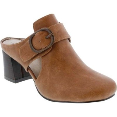 ベリーニ Bellini レディース サンダル・ミュール シューズ・靴 Piper Block Heel Mule Brown Faux Buck