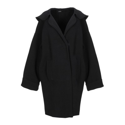 アルファスタジオ ALPHA STUDIO コート ブラック 44 ウール 100% コート