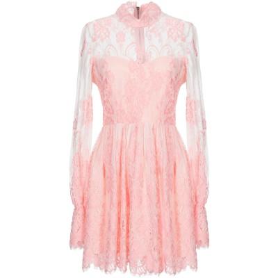 NORA BARTH ミニワンピース&ドレス ピンク 38 ポリエステル 75% / ナイロン 25% ミニワンピース&ドレス