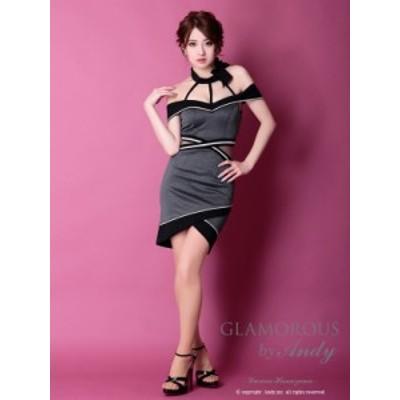 GLAMOROUS ドレス GMS-V618 ワンピース ミニドレス Andyドレス グラマラスドレス クラブ キャバ ドレス パーティードレス