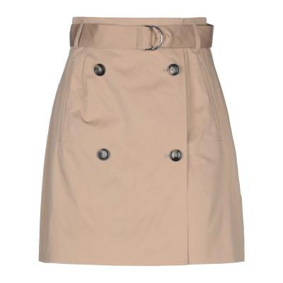BAUM UND PFERDGARTEN ひざ丈スカート サンド 34 コットン 97% / ポリウレタン 3% ひざ丈スカート