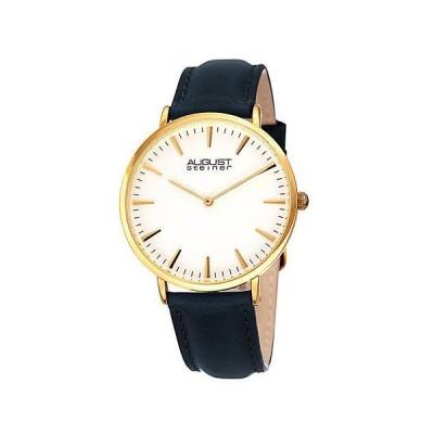 レディース アクセサリー 時計 August Steiner Women's Leather Watch
