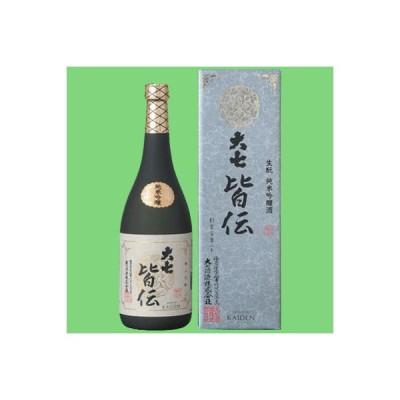 【地酒大SHOWで連続ゴールド賞受賞!】 大七 皆伝 生もと 純米吟醸酒 720ml(1)